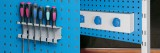 Zvětšit fotografii - Q-systém panel pojízdný PPV 02B 71x127x60 cm - nástřik RAL5012 Kovos