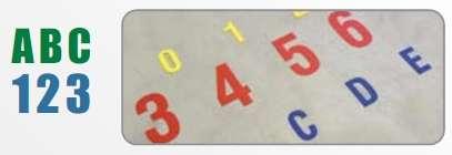 Zvětšit fotografii - DuraStripe podlahové značení 5S - číslice