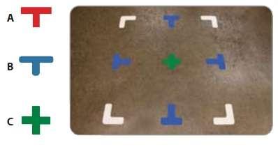 Zvětšit fotografii - DuraStripe podlahové značení 5S - T