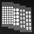 Zobrazit detail - Označovací fotoluminiscenční šipky a kruhy