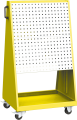 Zvětšit fotografii - Q-systém panel pojízdný PPV 02B 71x127x60 cm Kovos