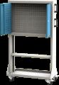 Zvětšit fotografii - Q-systém panel pojízdný jednostranný PPV 03A 1410x837x20 cm Kovos