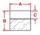 Zvětšit fotografii - Samolaminovací štítky pro BMP™71, 101,6 x 38,1mm