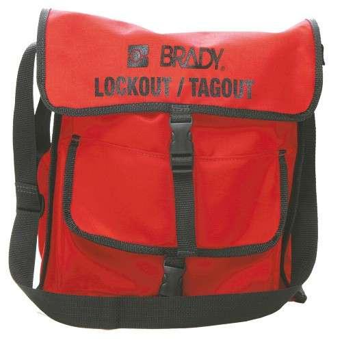 Zvětšit fotografii - Brady Brašna na uzávěry a zámky - červená Lockout Satchel