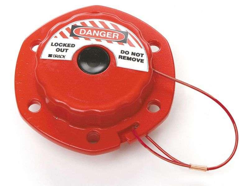 Zvětšit fotografii - Brady Mini Cable Lockout - Kabelový mini uzávěr