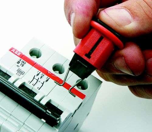 Zvětšit fotografii - Brady Miniaturní uzávěry jističů (POS) 6 ks