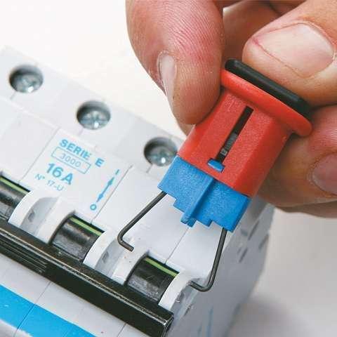 Zvětšit fotografii - Brady Miniaturní uzávěry jističů (PIS) 6 ks