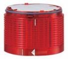LED červená stroboskopická poplašná, pouze verze 24V DC