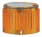 LED jantarová stroboskopická poplašná, pouze verze 24V DC