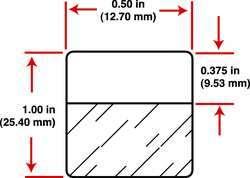 Zvětšit fotografii - Samolaminovací štítky pro BMP™71, 25,4 x 12,7mm