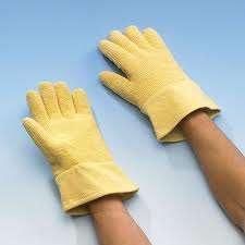 Zvětšit fotografii - Tepelné ochranné rukavice do +500 ° C - Tepelné ochranné rukavice do +500 ° C, pětiprsté rukavice