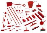 Zobrazit detail - Úklidová sada 5S červená 10 ks