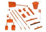 Zobrazit detail - Úklidová sada 5S oranžová 8 ks