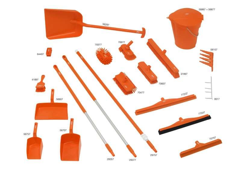 Zvětšit fotografii - 5S Úklidová sada oranžová 8 ks