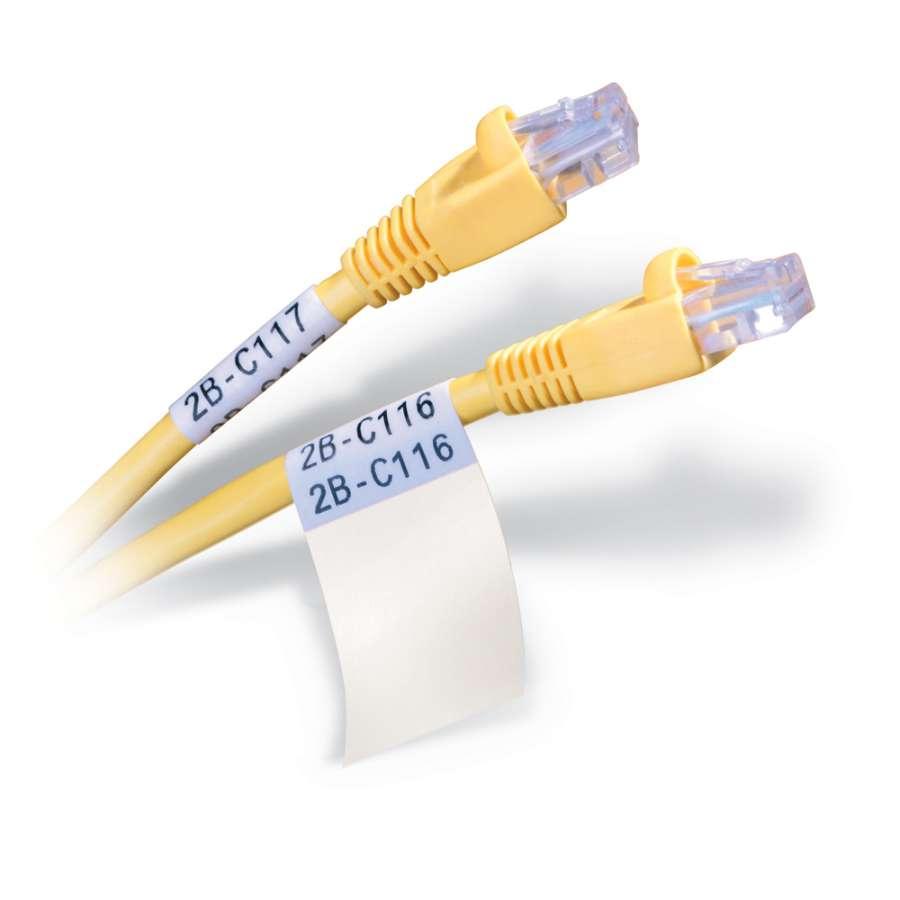 Zvětšit fotografii - Brady Samolaminovací štítky Wire & Cable Markers B-427, 1000 štítků