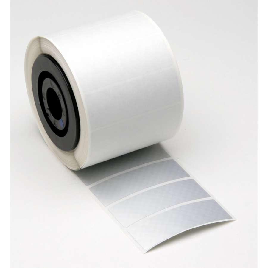 Zvětšit fotografii - Brady Etikety Silver B-7563 metalizovaný polyester