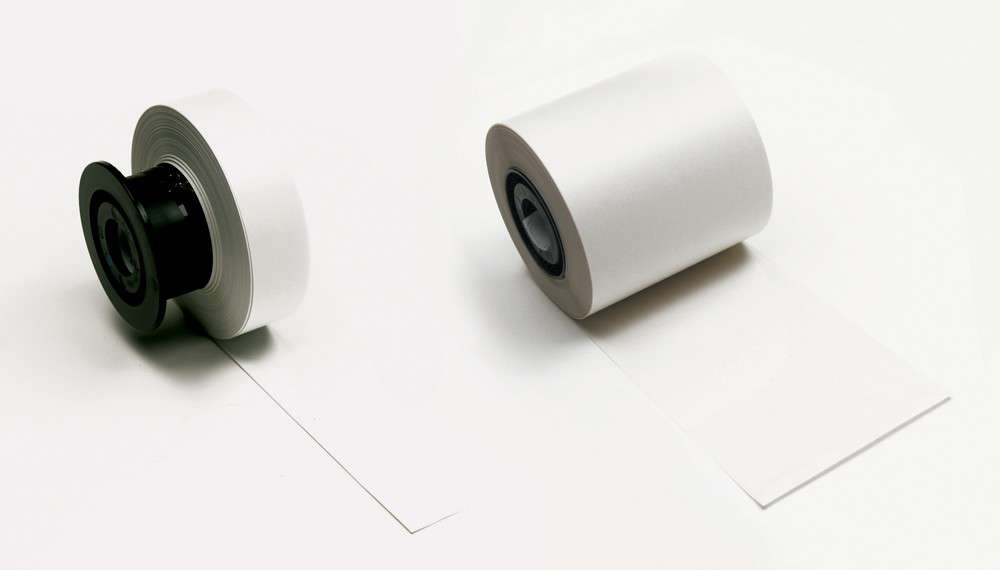 Zvětšit fotografii - Brady Minimark Indoor vinyl bílá páska
