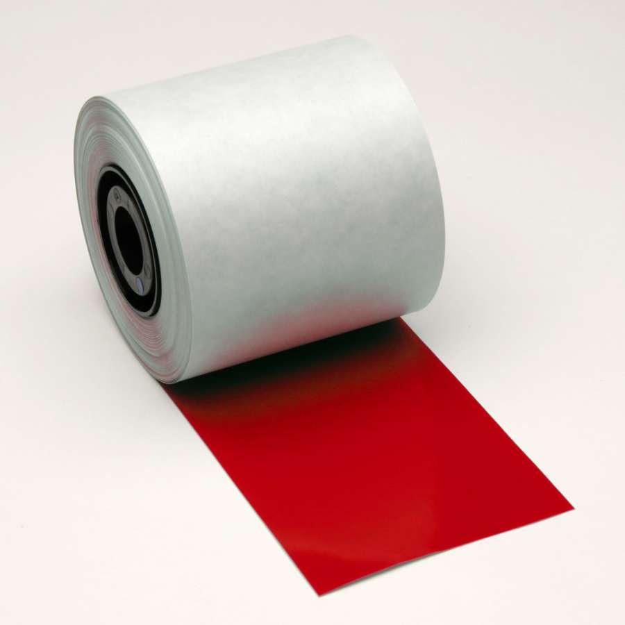 Zvětšit fotografii - Brady Vinylová páska - venkovní červená B-7569, délka 35 m