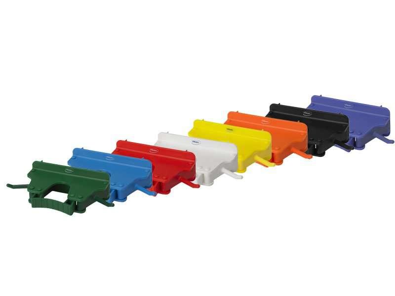 Zvětšit fotografii - Nástěnný polypropylenový držák na náčiní barevný, na 1 - 3 produkty