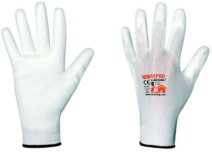 Zvětšit fotografii - Rostaing Pracovní rukavice WHITEPRO