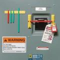 Zvětšit fotografii - Brady Nástěnný držák blokovacích tyčí 5ks