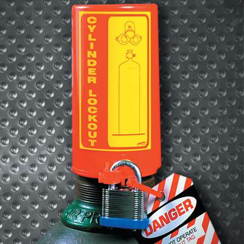Zvětšit fotografii - Brady Uzávěr plynové bomby Lockout