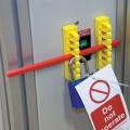 Zvětšit fotografii - Brady Žlutá upevňovací kolejnice 101 mm